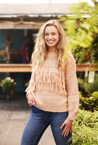 Wild Thing Knit Sweater Top