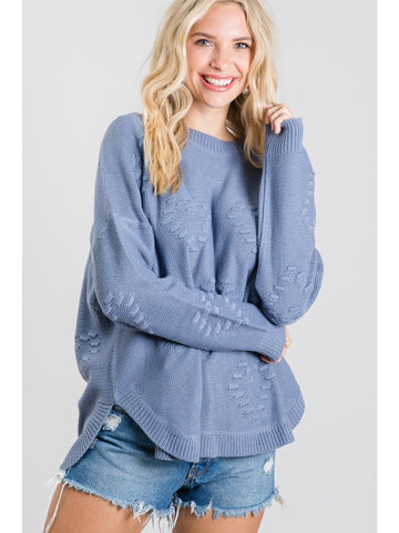 Winter Nights Puff Sleeve Top