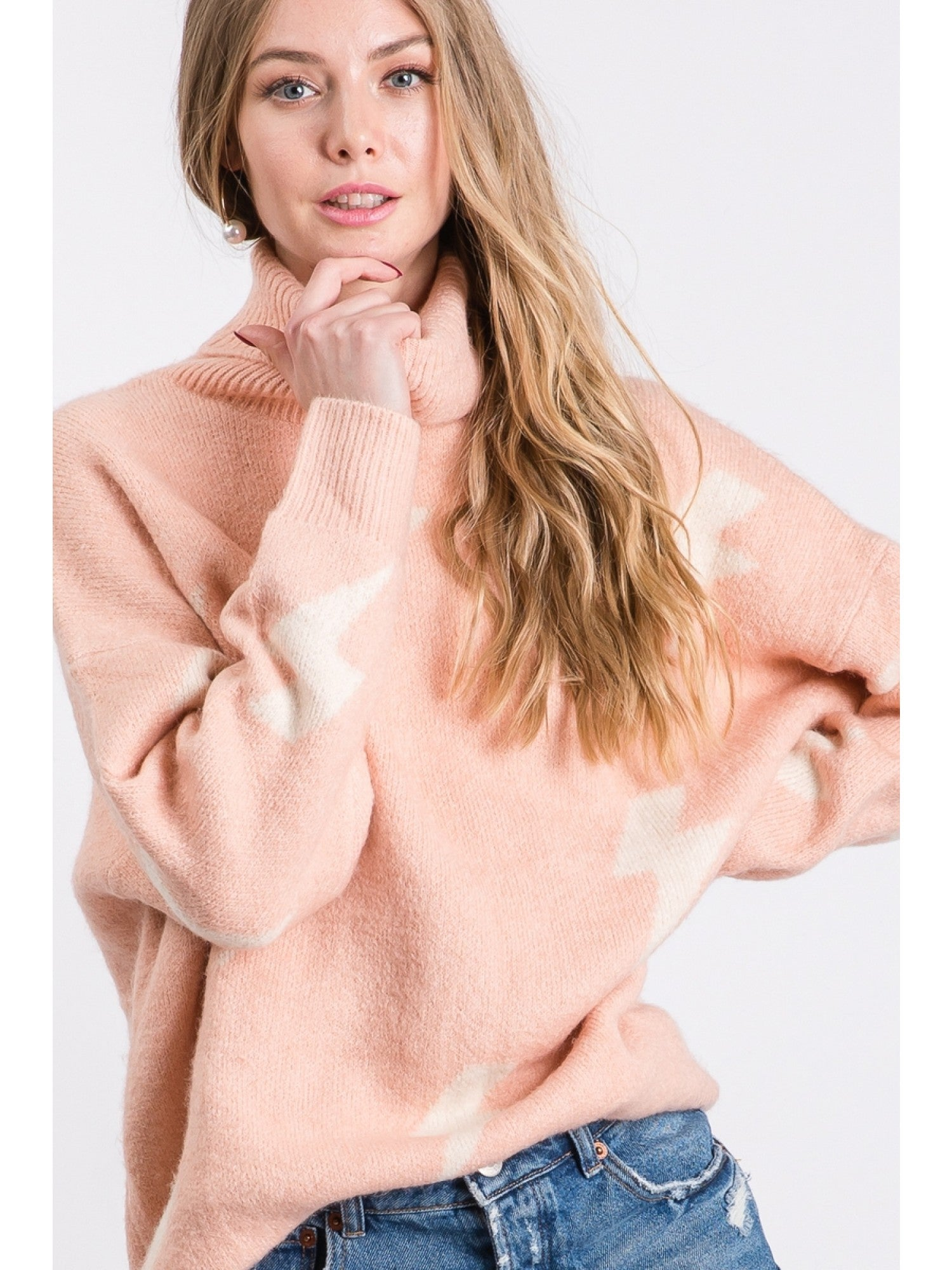 Strikes Tunic Sweater