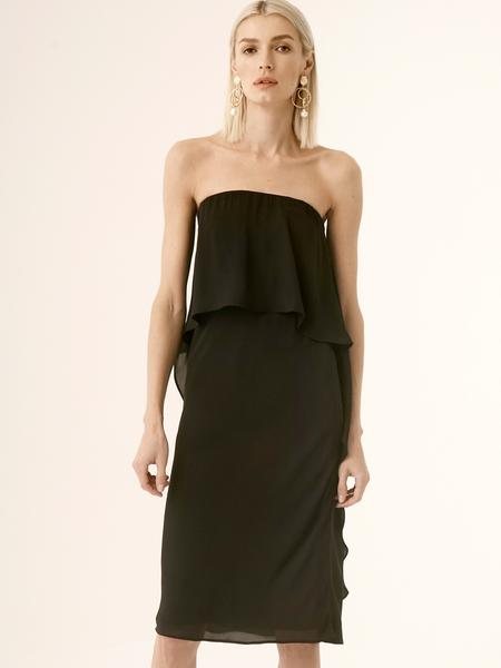 Layered Strapless Dress