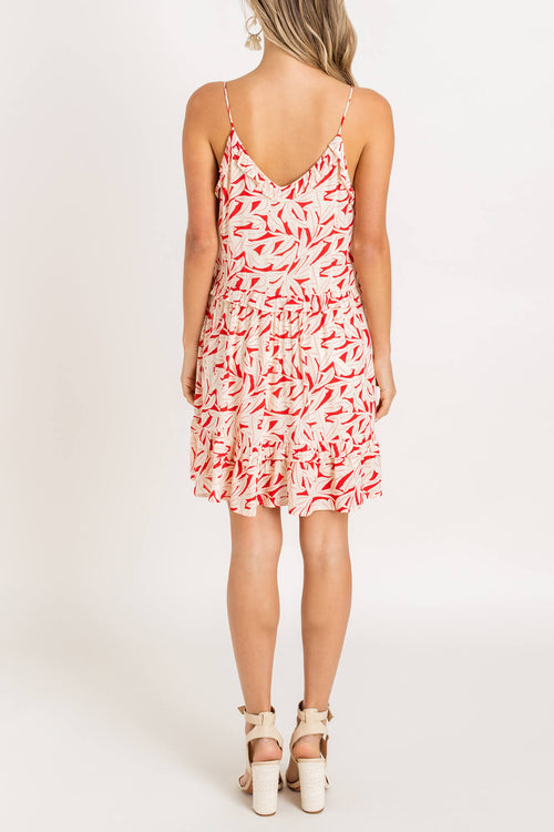 Summer's End Ruffle Dress