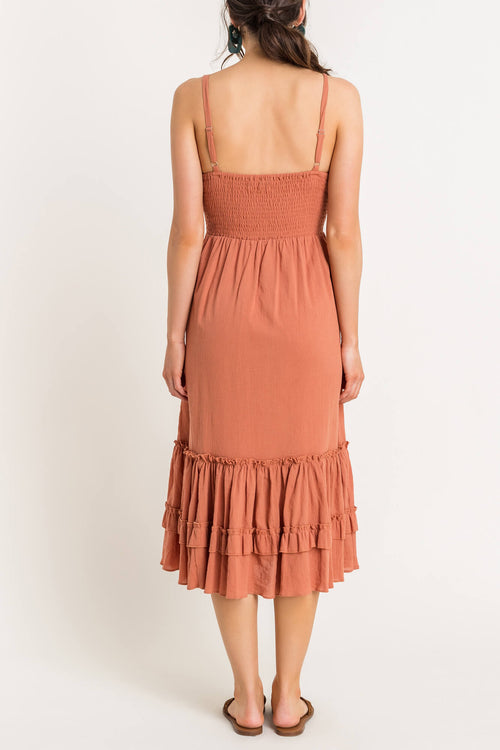 Canyon Frills Midi Dress