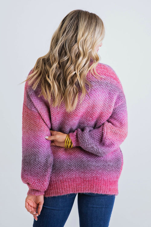 Hillary Boho Mix Sweater