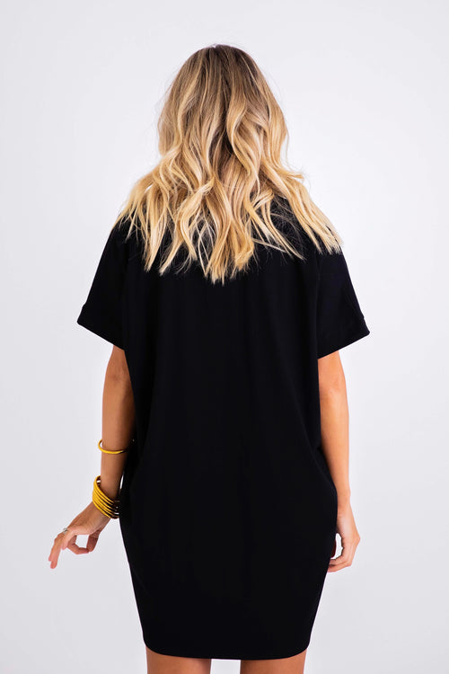 Classic Slouch Tunic Dress