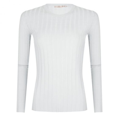Longsleeve Ribbed Sweater Top