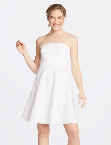 Hazel Asymmetrical Ruffle Dress