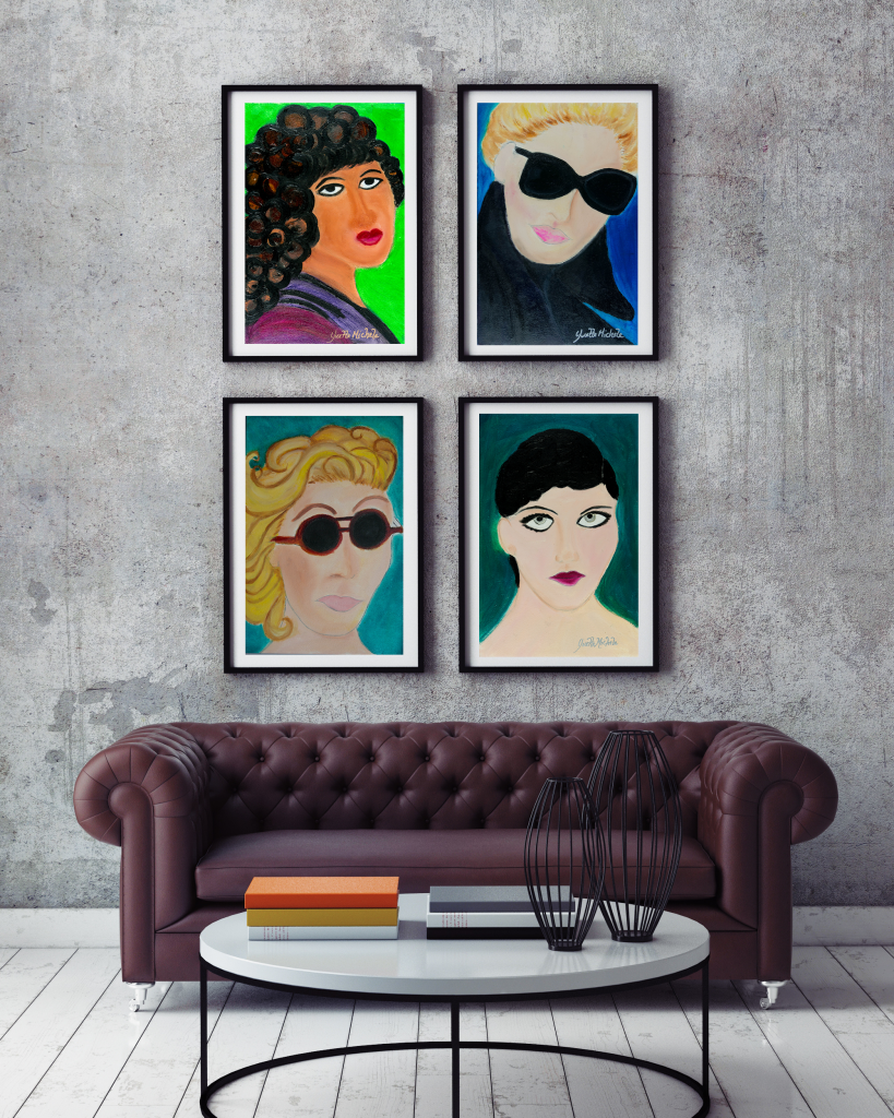 LeFemme Portrait Series - Original Oil Paintings and Limited Edition Prints