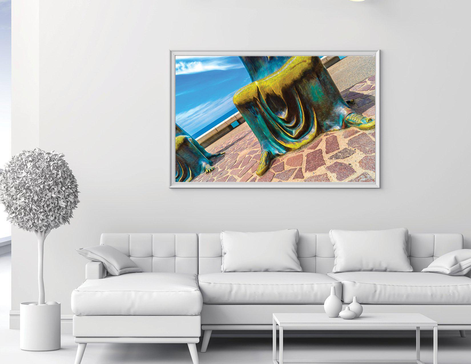 Walk On The Malecon - New Chucks - Single Edition Large Photography Print - Yvette Michele Art