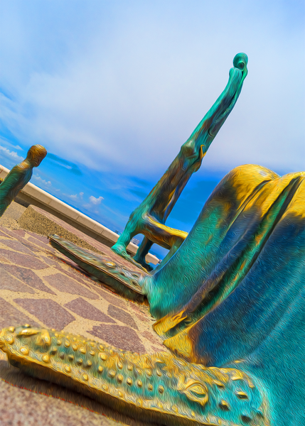 Walk On The Malecon - Alchemist 1 Single Edition Photography Print - Yvette Michele Art