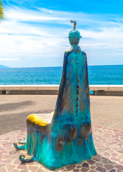Walk On The Malecon - Decisions Single Edition Photography Print - Yvette Michele Art