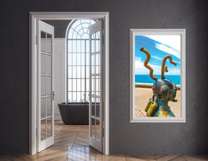 Walk On The Malecon - Diver Single Edition Photography Print - Yvette Michele Art