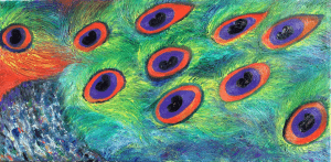 "St Croix King Series - ""Eye See You"" - Oil on Canvas"
