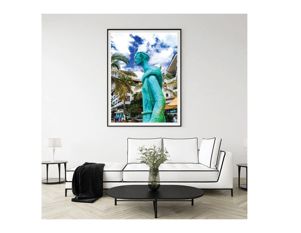 Walk On The Malecon - Franciscan No2 Single Edition Photography Print - Yvette Michele Art