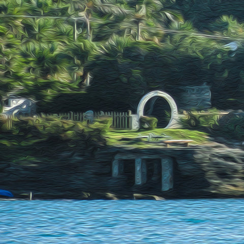 "Oh My Bermuda Series - ""Moon Gate"" - Single Edition Photography - Yvette Michele Art"