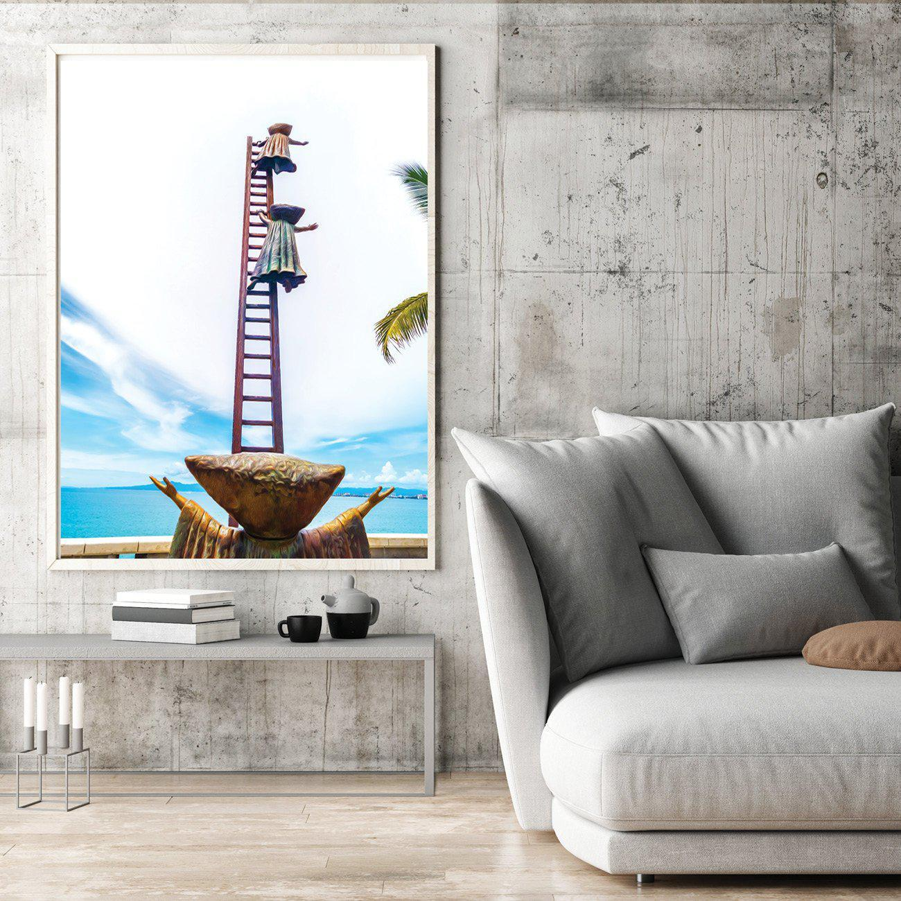 Walk On The Malecon - Mothers Love - 2 Single Edition Photography Print - Yvette Michele Art