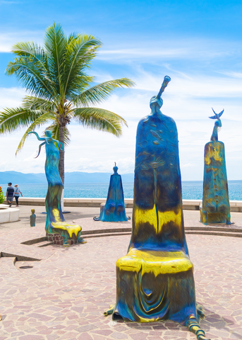 Walk On The Malecon - Quartet - Single Edition Photography Print - Yvette Michele Art