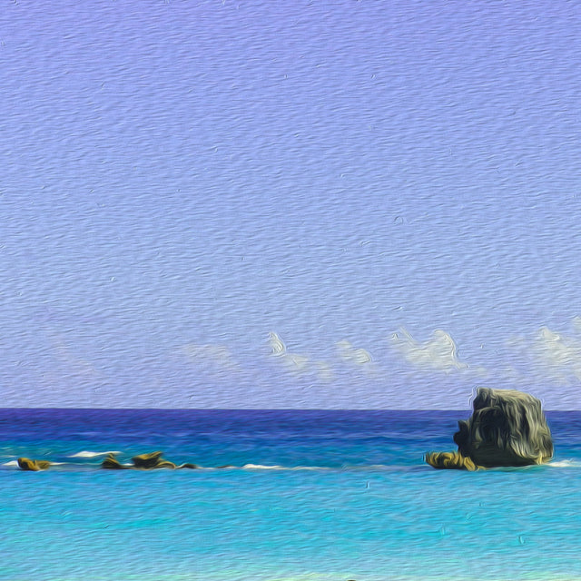 "Oh My Bermuda Series - ""Song"" - Limited Edition Prints - Yvette Michele Art"
