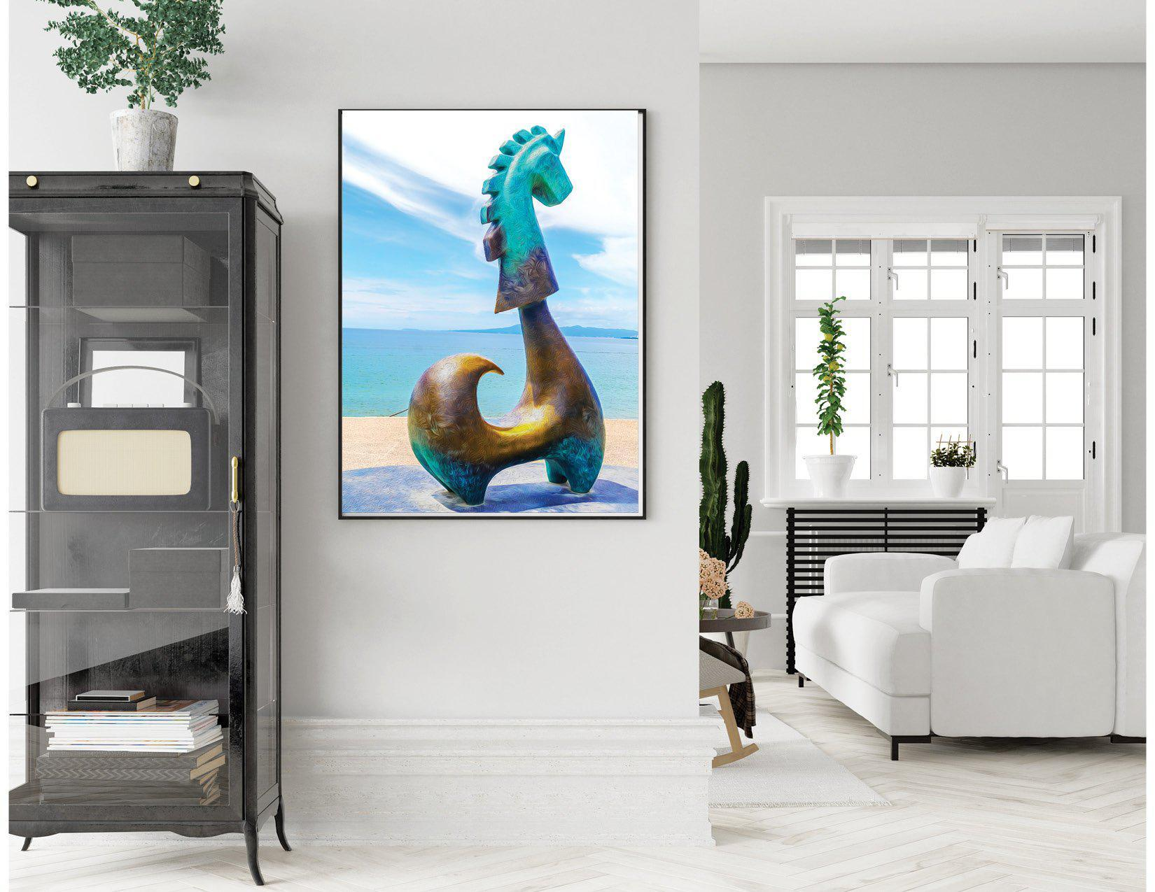Walk On The Malecon - Unicorn No2 - Single Edition Photography Print - Yvette Michele Art