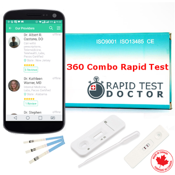 Rapid Test for 6 STD with online doctor consultation