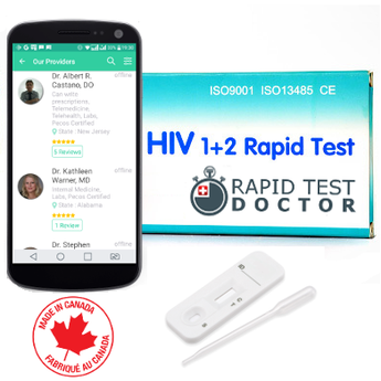 Rapid Test HIV with STD medical consultations