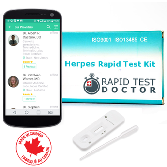 Rapid Test Herpes with STD online doctor consultation