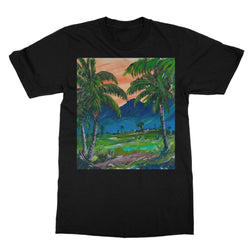 SANTA BARBARA PALMS Softstyle Ringspun T-Shirt