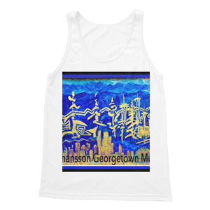 Georgetown Seattle Mural 2020 Softstyle Tank Top