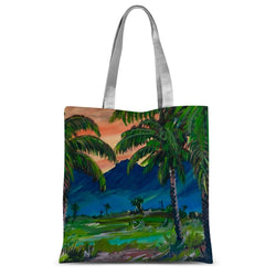 SANTA BARBARA PALMS Sublimation Tote Bag