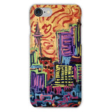 THICK PAINTED CITY Phone Case