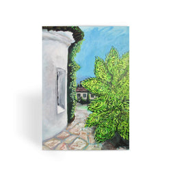 SANTA BARBARA ALCOVE Greeting Card