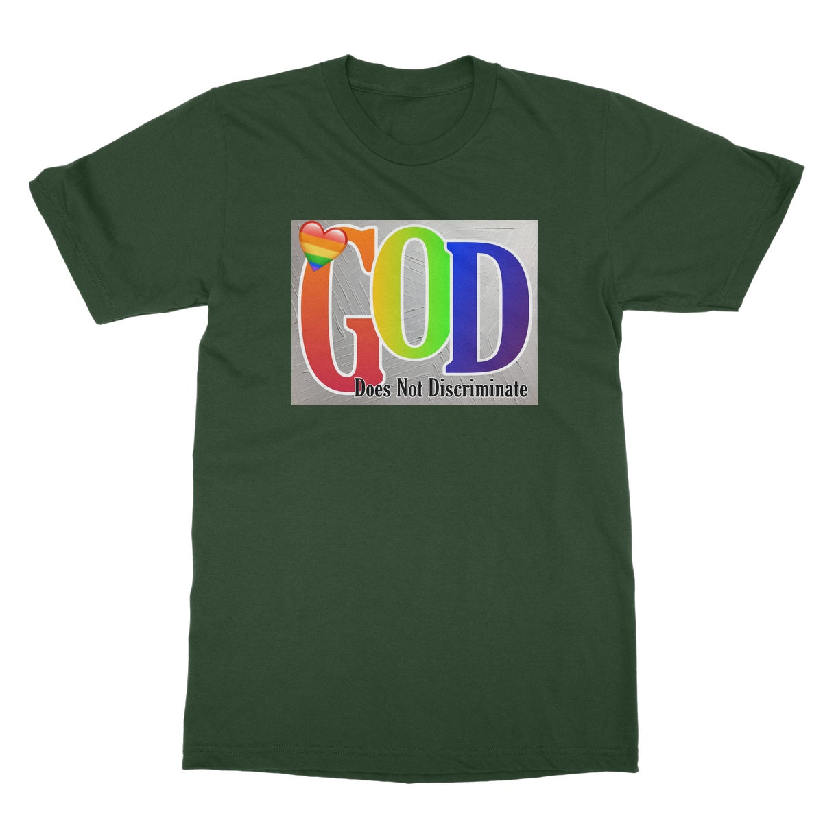 God Does Not Discriminate Softstyle T-Shirt
