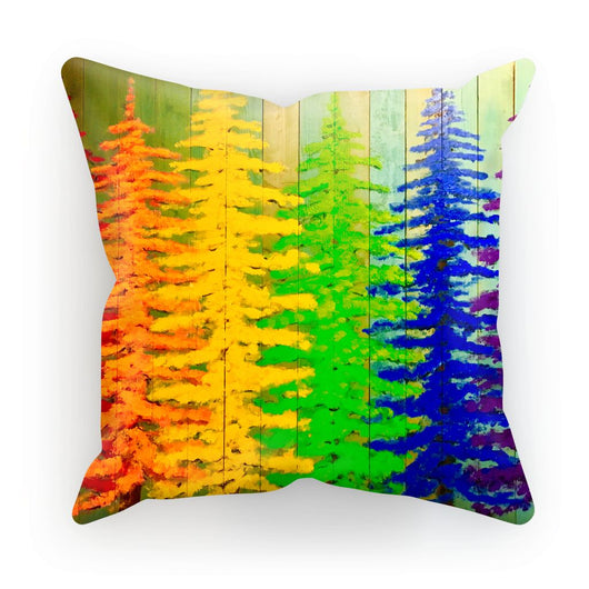 RAINBOW FOREST PILLOW