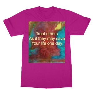 TREAT OTHERS WELL Softstyle Ringspun T-Shirt
