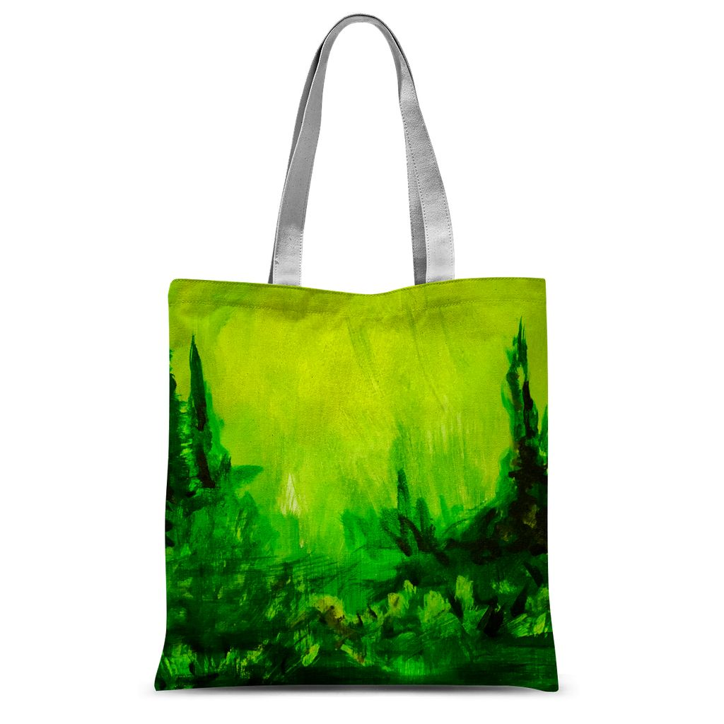 SOFT FOREST Tote Bag