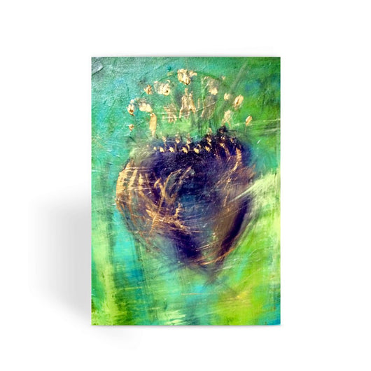 PURPLE HEART Greeting Card