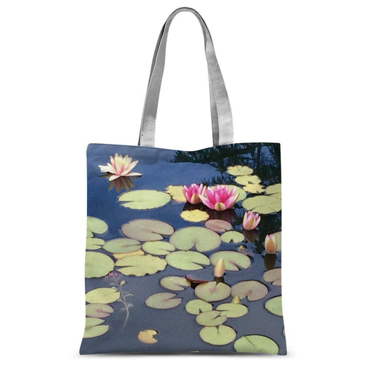 WATER LILY PHOTOGRAPH Sublimation Tote Bag