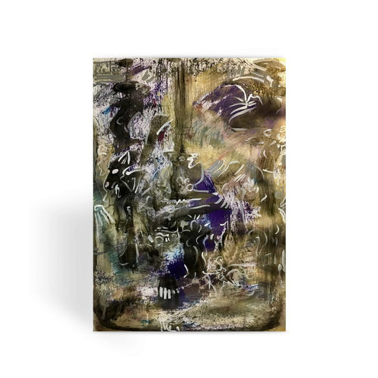 ABSTRACT 18 Greeting Card