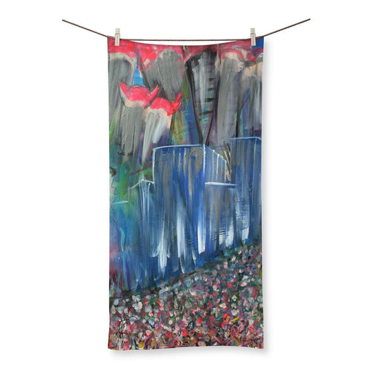 MARCHING MASS Beach Towel