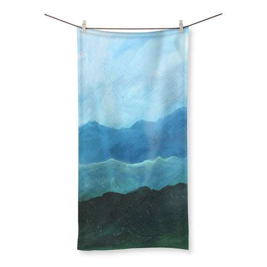 BLUE MOUNTAIN RANGE Beach Towel