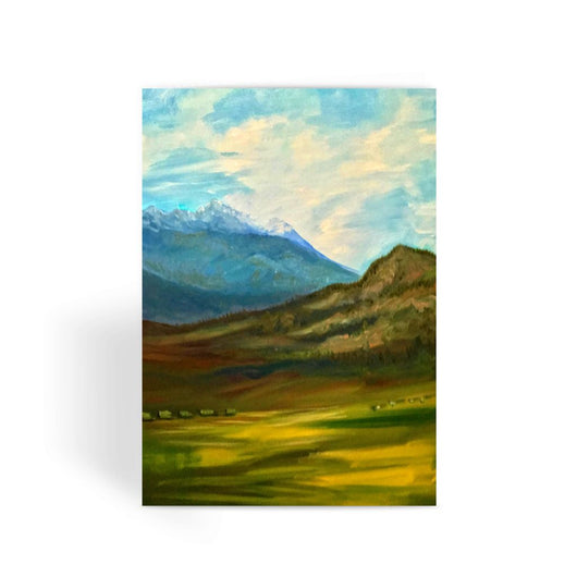 WYOMING GRAND TETON Greeting Card