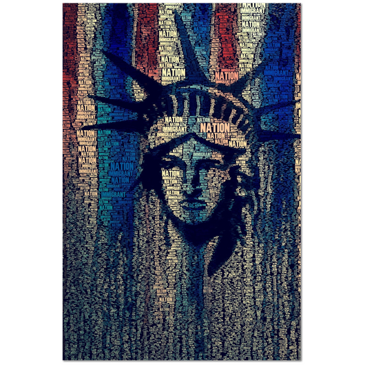 Immigrant Nation Ltd. Edition Print by David Johansson