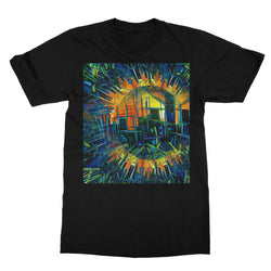 SEATTLE ORANGIE SKY Softstyle Ringspun T-Shirt