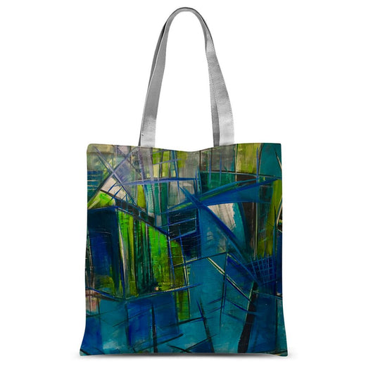 BLUE HUES Tote Bag