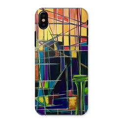 Seattle Sunrise Abstract Phone Case
