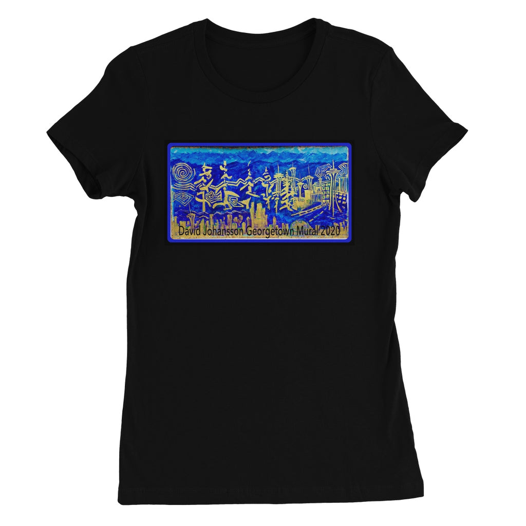 Georgetown Seattle Mural 2020 Women's Favourite T-Shirt