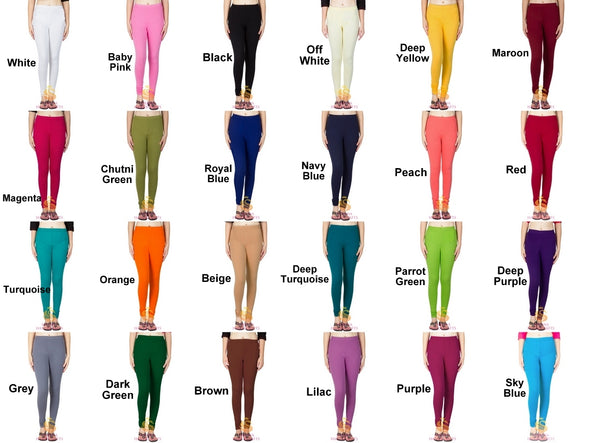 Authentic Cotton Churidar Leggings
