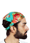 Lot 10 Pieces Women Cotton Printed Headband Wide Hairband Men Wrap Yoga Bandana