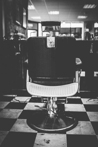 Back to Back Barber Chair