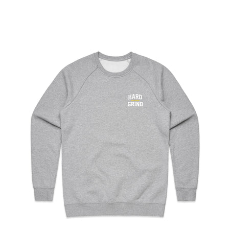 Stacked Grey Marl Crewneck