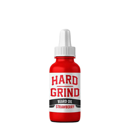 Strawberry Beard Oil | Hard Grind